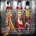 Falln Kimono Crimson Garden Festival