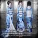 Falln Kimono Blue Roses