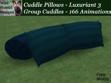 [WHD] -- Cuddle Pillows - Group Version - Luxuriant 3 - C/M - 166 animations - 99 poses