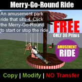 FREE Merry-Go-Round Ride - Amusement park