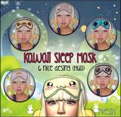 NS::  Kawaii Sleep Mask (HUD)