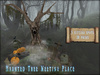 Boudoir Halloween -Haunted Tree Meeting Place