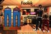 Rerty Foolek Pants Unisex-Mesh (BLUE)