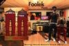 Rerty Foolek Pants Unisex-Mesh (RED)