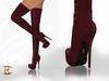 BAX Regency Boots Burgundy Leather