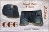 CGG Denim Shorts - Rigged Mesh 5 Sizes (2Chez)