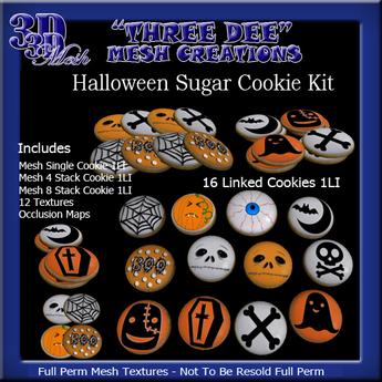 TD Mesh Halloween Cookie Kit