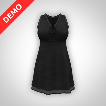 ANOIRCRE Leger Dress DEMO (Mesh)