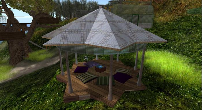 =IcaruS= Gazebo Summerhouse MESH