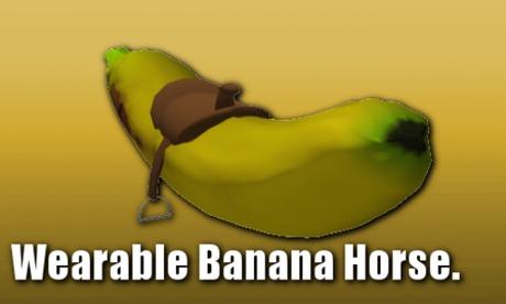 SW - Wearable Banana Horse