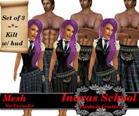 Inara's MESH Kilt-Ravenclaw