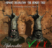 "Aphrodite Halloween decoration ""Hungry spooky tree"""