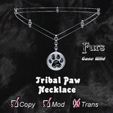 [FGW] Necklace Tribal Paw-D