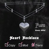[FGW] Necklace Heart-D