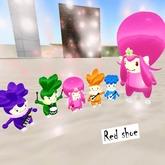 ::Red Shoe:: Flower Doll tiny avavar