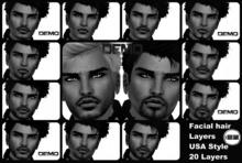 (red)sand  USA STYLE  Facial hair _ DEMOS