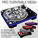 Pro Turntable Mesh with glowing parts