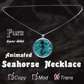 [FGW] Necklace - Tribal Seahorse