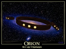Gaagii Creations - Orion Belt and Wristbands (unisex)