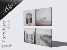 ::db furniture:: Canvas art set