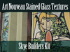Skye Build Kit Art Nouveau Stained Glass Window  Full Perms