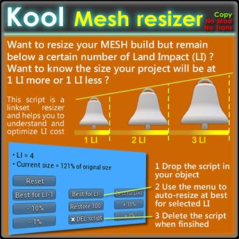 Kool - Mesh resizer