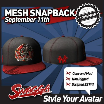 [SWaGGa] Mesh September 11th Snapback (BX)