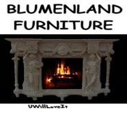 BT Fireplace home antik white