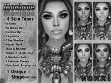 .::voxxi::.  DEMO MONIQUE Complete Avatar (All Skins)