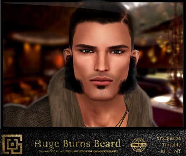 Labyrinth - Huge Burns Beard (Tintable)