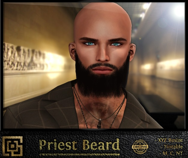 Labyrinth - Priest Beard (Tintable)