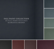 Fall Paint Collection I 40 Seamless & Shaded Full Perm Textures