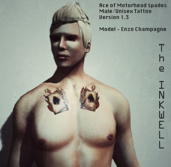 ~The INKWELL :  Ace of Motorhead Spades