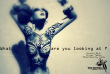 ~The INKWELL : What are You Looking at : Version 13.4 - Unisex Tattoo