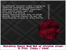 Disco Ball B2 (Choose from 7 Disco Textures!)