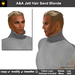 A&A Jett Hair Sand Blonde (Special Color). Short men's hairstyle, matching tattoo layer hairbase