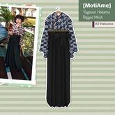 [MotiAme] #2 Hakama Yagasuri - Blue