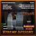 Tombstone TipJars - Headstone - Halloween