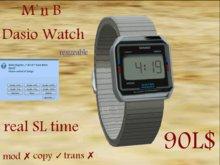 *~M`n B~* Dasio Watch (silver)