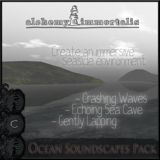 Ocean Soundscapes Pack [COPY/MODIFY/no transfer]