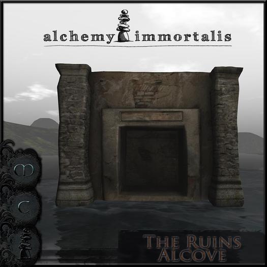 The Ruins Alcove [COPY/MODIFY/no transfer]
