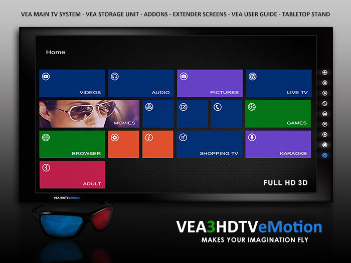 VEA 3 Media Video Television Movies Youtube Shoutcast Radio