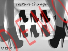 .::voxxi::. DEMO [Denise] Texture Change Suede Ankle Boots