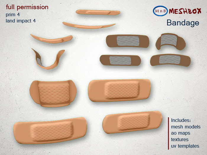 *M n B* Bandage (meshbox)