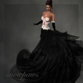 Snowpaws - Sadire gown - lynx