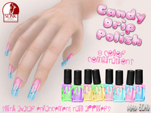 Mad Echo - Candy Drip Polish for Slink Avatar Enhancement Nails