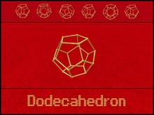 Gaagii _ Dodecahedron (Polyhedron) - Rotating / Stationary