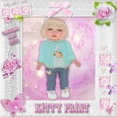 CCC Kitty Print - Toddleedoo BABY Only!