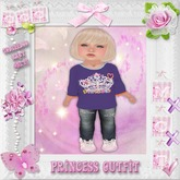 CCC Princess Crown - Toddleedoo BABY Only!