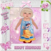 CCC Snowy Nightgown - Toddleedoo BABY Only!